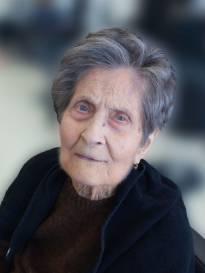 Necrologio ed informazioni sul funerale di Maria Albina Giampieretti