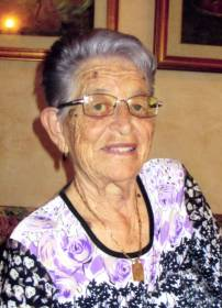 Necrologio ed informazioni sul funerale di Amalia D'Ottavi