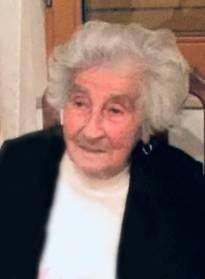 Necrologio ed informazioni sul funerale di Olimpia Rafin