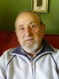 Necrologio ed informazioni sul funerale di Giuseppe Peretti