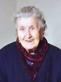 Funerali Moglia - Necrologio di Lina Norassi