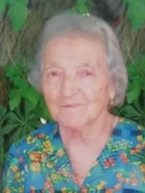 Necrologio ed informazioni sul funerale di Ersilia Manzotti