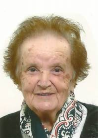 Necrologio ed informazioni sul funerale di Leda Menchicchi