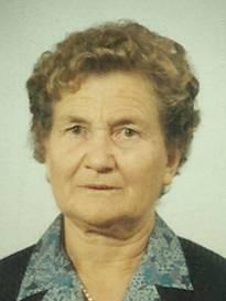 Funerali Lucignano - Necrologio di Irma Bellucci