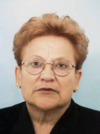 Necrologio ed informazioni sul funerale di Maria Dragoli