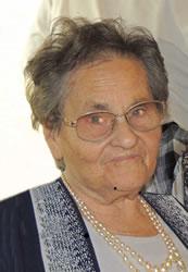 Necrologio ed informazioni sul funerale di Edda Gasparetti