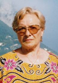 Necrologio ed informazioni sul funerale di Ruggera Tomasetti