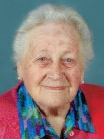 Necrologio ed informazioni sul funerale di Teresina Ravanetti