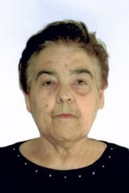 Necrologio ed informazioni sul funerale di Elda Crispiani