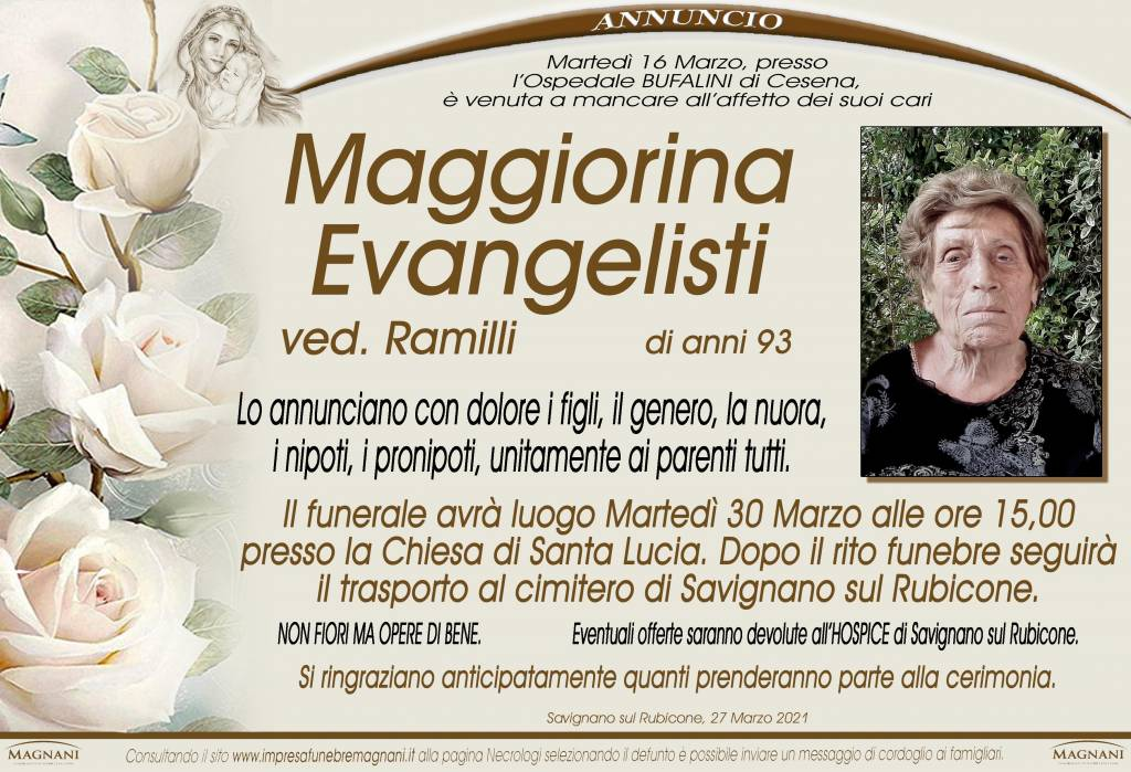 Maggiorina Evangelisti