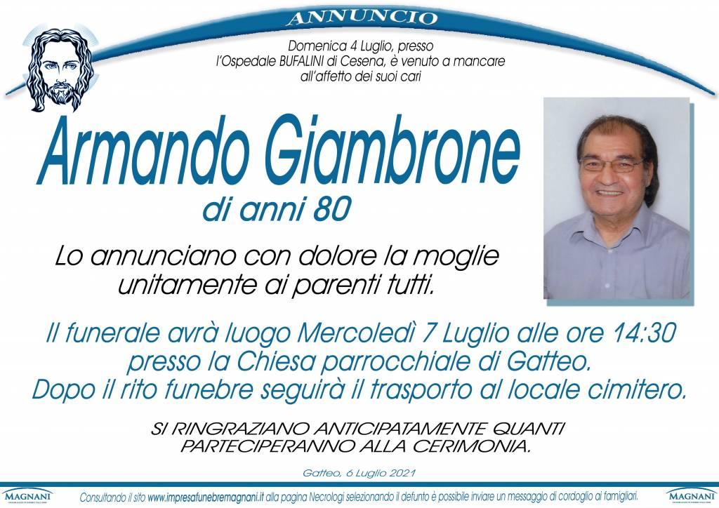 Armando Giambrone