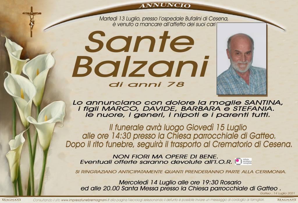 Sante Balzani