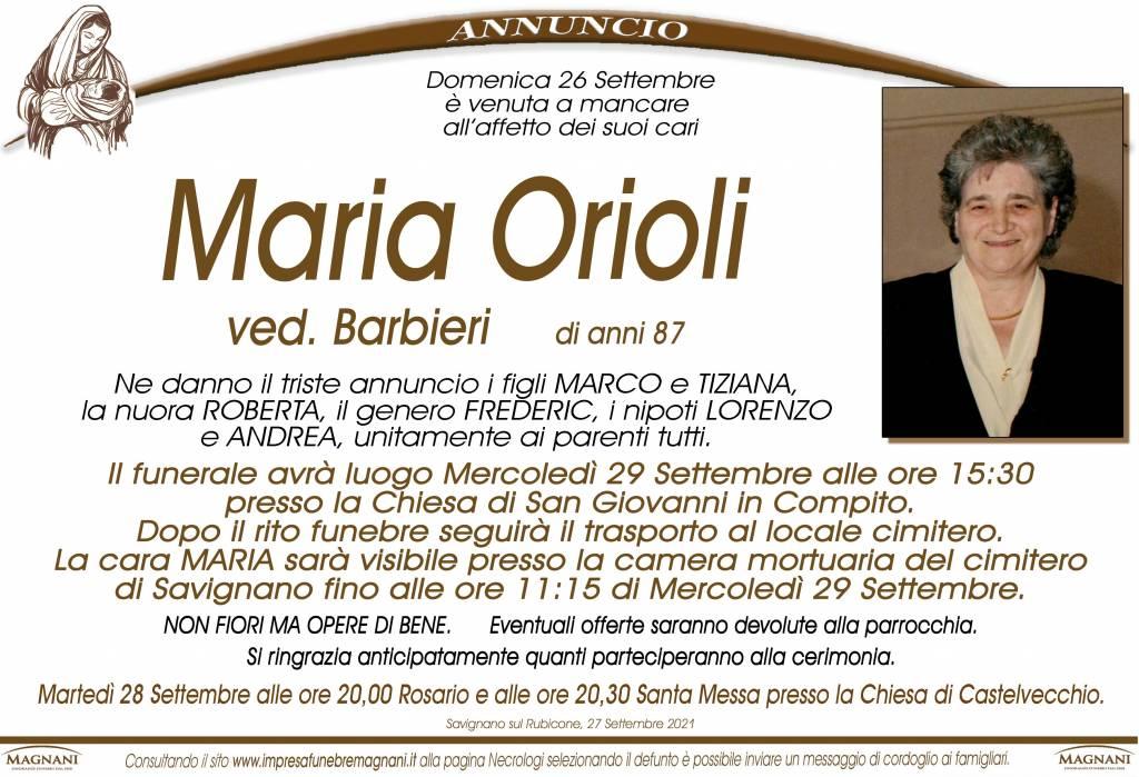 Maria Orioli