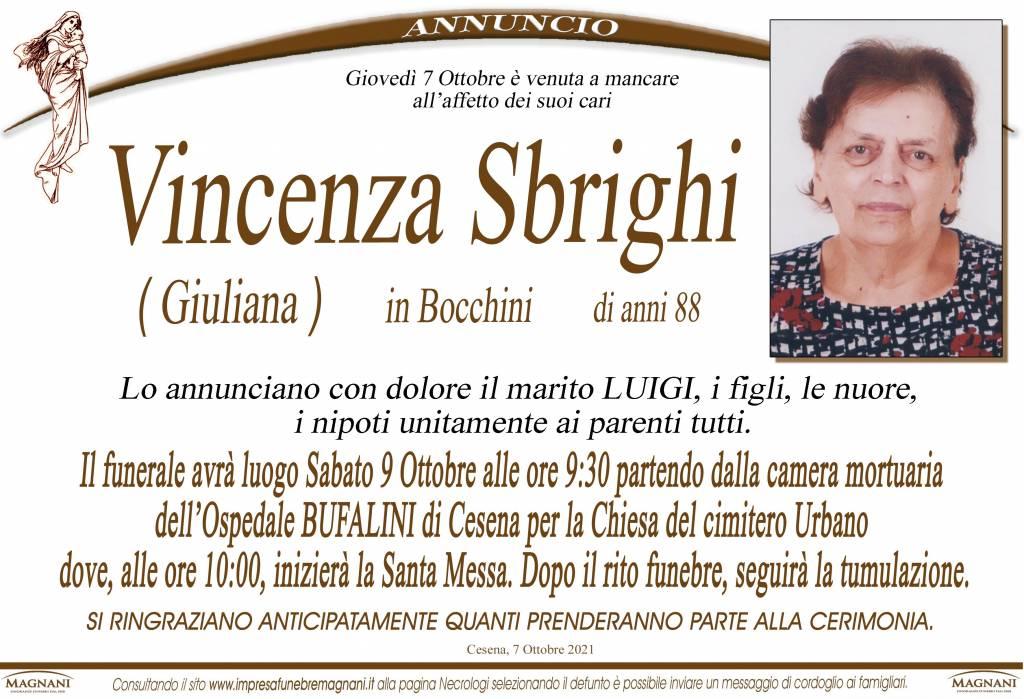 Vincenza Sbrighi