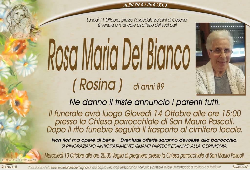 Rosa Maria Del Bianco